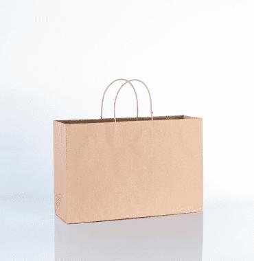 Bolsas de papel con manigueta
